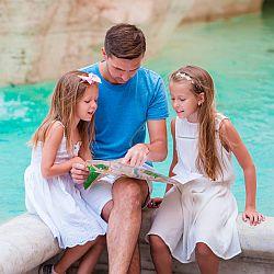 Kulturalna rodzina, czyli pomysł, jak spędzić czas z dzieckiem na mieście. - okładka