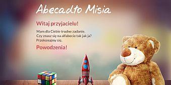 Abecadło Misia - okładka
