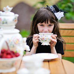 Herbata, a dzieci - okładka