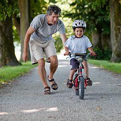 Nauka jazdy dla najmłodszych - czas na rower! - okładka