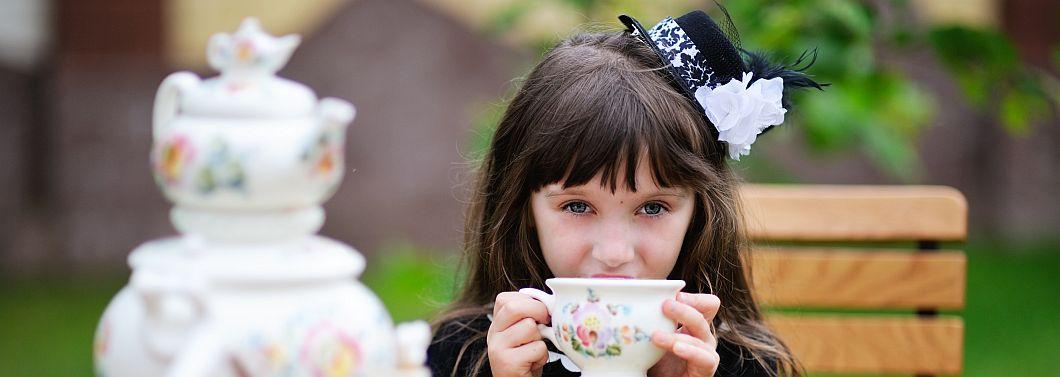 Herbata, a dzieci - ilustracja