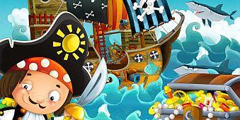 Dzielny Pirat - okładka