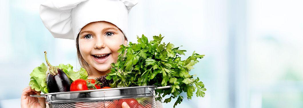 Kiedy dziecko nie je mięsa - ilustracja