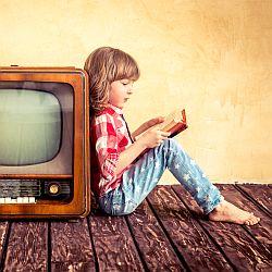 Książka vs TV - okładka