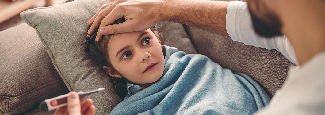 Kiedy koniecznie iść z dzieckiem do lekarza?  - ilustracja