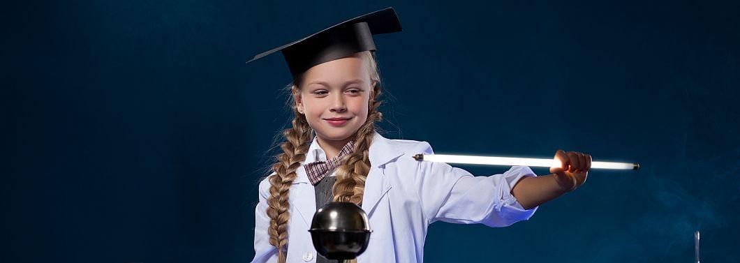 Jak wychować małego fizyka? - ilustracja